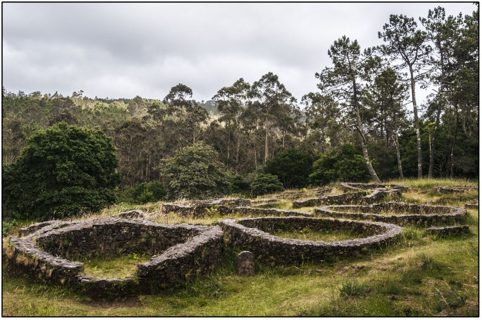 El castro de Boneiro en Galicia