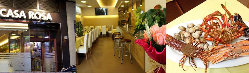 restaurante casa rosa malpica