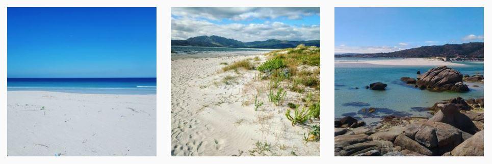 instantaneas playa de carnota