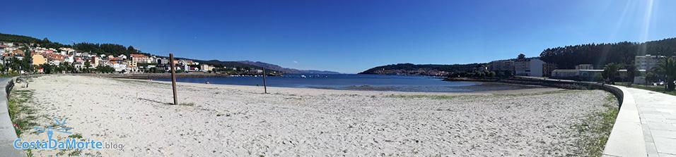 panoramica playa de cee