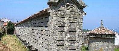 Horreo de Lira en galicia