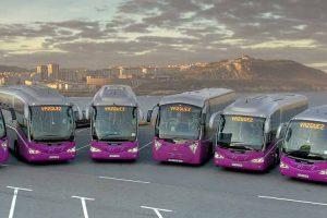 buses taxis costa da morte en galicia