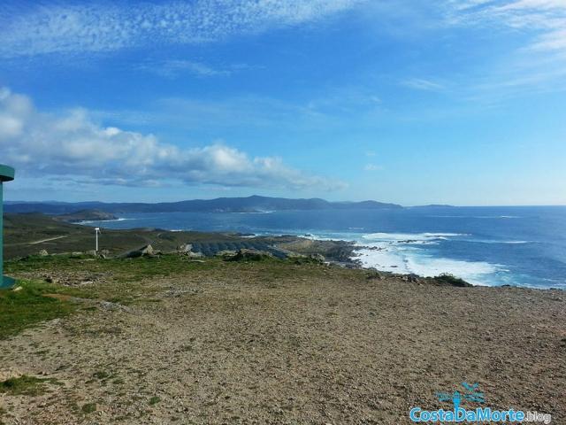 Cabo Vilan vistas a Muxia