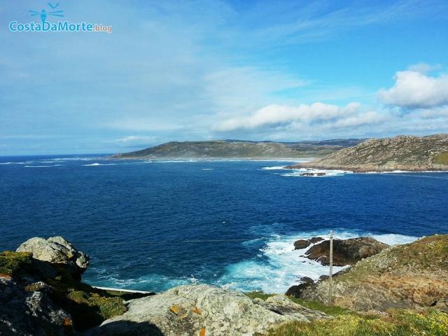 Cabo Vilan vistas a Reira
