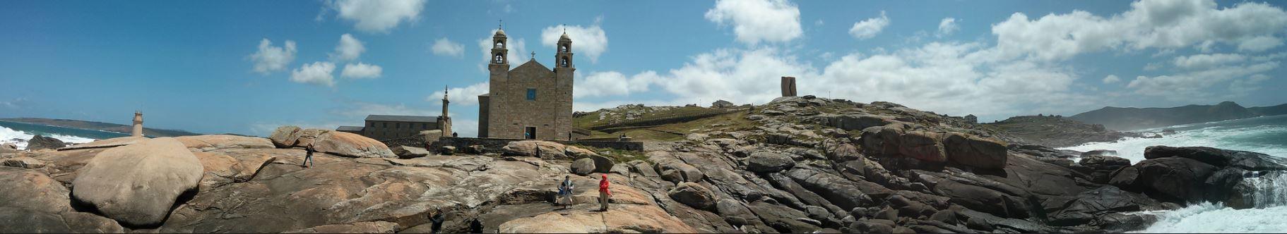 Panoramica Santuario da Virxe da Barca Muxia | Foto manuelfouce & anaramos