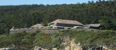 Castillo del Cardenal en Corcubion