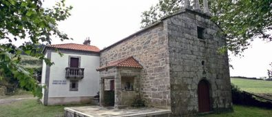 Ermita de As Neves en Buxantes