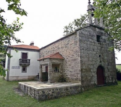 Ermita de As Neves en Buxantes