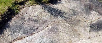 Los Petroglifos De Carnota A Laxe Escrita